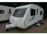 SALE!! 2010 SWIFT SAFARI 550 4 BERTH CARAVAN - FIXED BED - END WASHROOM - LOVELY
