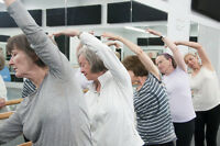 Basic ballet classes and Barre fitness for adults over 50