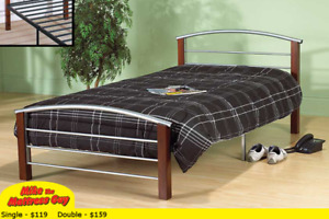 MIKE'S GOT THIS BED & MATTRESS JUST $179 - SEE OTHER STYLES HERE