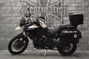 2014 Triumph Tiger 800 XC - Loaded up and ready to adventure!!