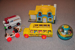 Vintage Fisher Price Toys