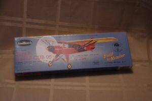 Guillow's Piper Super Cub 95 Flying model kit #602, new