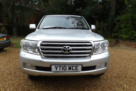 2010 10 Toyota Land Cruiser V8 4.5TD auto D-4D Premium Audio FTSH FULLY LOADED