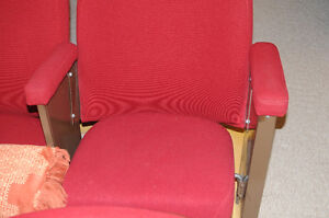 Deluxe Home Theater seats-total 8, 2 on custom base each.