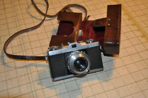 Lordox 35mm camera with accessories