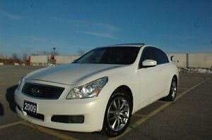 2009 INFINITI G37X AWD NAVI/BACK UP CAMERA CERTIFIED & E-TEST