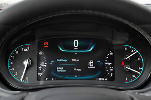 Buick, Cadillac, Lincoln gauge cluster display correction