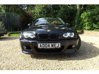 E46 BMW M3 3.2 SMG AUTO CONVERTIBLE INDIVIDUAL ORDER FULLY LOADED SUPERB CAR FSH