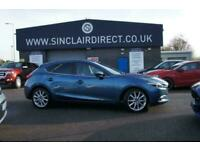2017 Mazda 3 2.2 D SPORT NAV Manual Hatchback Diesel Manual