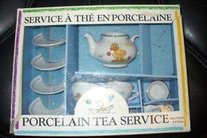Child's Porcelain Tea Service