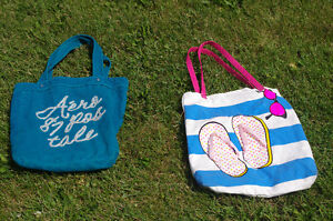 areopostale bag/tote and a fun summer flipflop bag