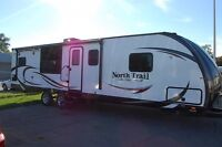 2016 Heartland North Trail King Slides NT 30RKDD