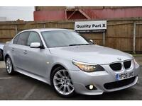*12 MTHS WARRANTY*ONLY 25,000 MILES WITH FSH*2009(09)BMW 520D M SPORT AUTO*