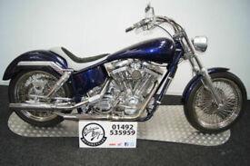 1976 Harley Davidson Richard Taylor Scoundrel, Unique Hand Built Chopper, 1500cc