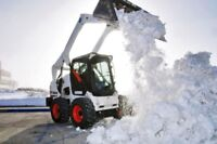 Commercial Snow Removal, lot Sanding, Hauling,