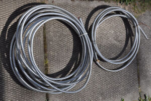 armoured electrical 3 wire