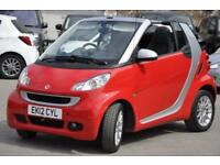 2012 Smart Fortwo 1.0 MHD Passion Cabriolet Softouch 2dr