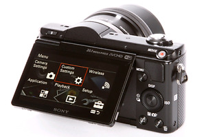 Sony a5000 mirrorless *Almost new*