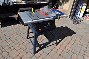 Almost new Mastercraft Table saw