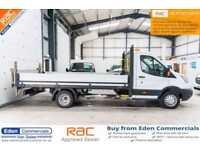 2015 15 FORD TRANSIT 2.2 350 C/C DRW 1D 124 BHP DIESEL DROPSIDE