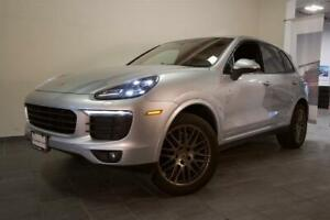 2017 Porsche Cayenne Platinum Edition | Prem Pkg Plus | Blind Sp