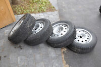 Snowtires from Subaru Outback