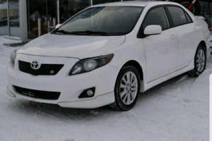 2010 Toyota corolla S certified and etested