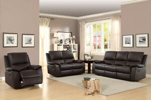 3 PIECE RECLINING SOFA SET !!!! 0% FINANCE AVAILABLE !!!!