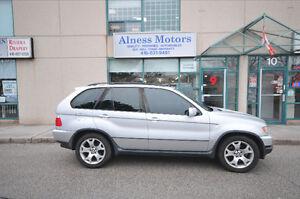 2003 BMW X5 4.4i Wagon-NAVIGATION-SUNROOF-SPORT SEATS-CERTIFIED