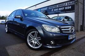 2009 MERCEDES C-CLASS C220 2.1 CDI BLUEEFFICIENCY SPORT DIESEL AUTOMATIC 4 DOOR