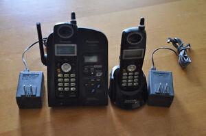 Panasonic 2 headset phone set with answering machine
