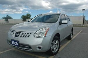 2009 NISSAN ROUGE S 2.5L 4 CYLINDERS CERTIFIED & E-TEST