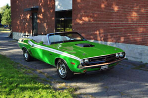 1971 Dodge Challenger Convertible Project