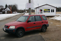 1999 Honda CR-V AWD LOADED MANUEL SUV, Crossover