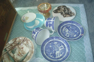 Saucer and cups collection
