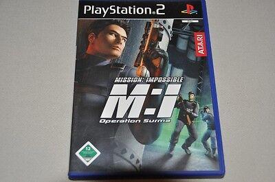 Playstation 2 Spiel - Mission Impossible Operation Surma - komplett Deutsch PS2  ()