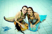 """""""Real"""" Mermaids for a Birthday Party!"""