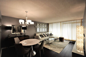Luxurious waterfront 2-bedroom residence for rent.