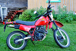 Honda XL XR350 1984