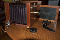 VIEW CAMERA ROCHESTER OPTICAL CO. 6.5x8.5 INCHES NEW MODEL