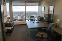 Move-In-Ready Furnished Office Space in the HEART of downtown!