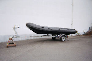16 Foot Soft Bottom Rubber Inflatable Boat For Sale