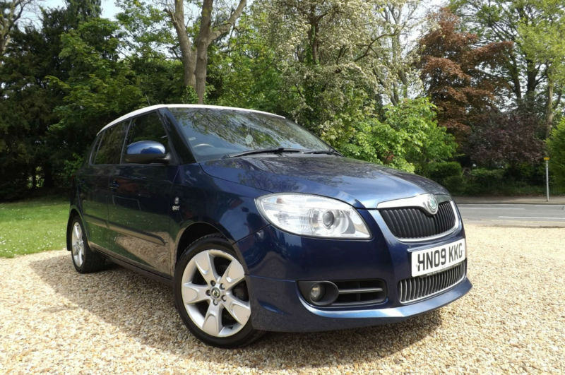 2009 skoda fabia 1 4 tdi pd sport 80 bhp fsh diesel 70 mpg economy 30 road tax in. Black Bedroom Furniture Sets. Home Design Ideas