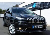 2015 JEEP CHEROKEE 2.0 CRD M-JET LIMITED (S/S) SW 5DR 4WD AUTOMATIC DIESEL SUV D