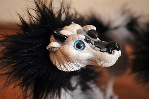 ❖ One of a Kind : Chinese Lemur Posable Dragon Art Doll London Ontario image 2