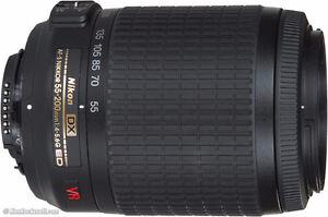 Nikon 55-200 VR AF-s Lens
