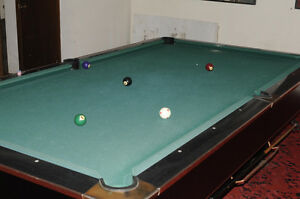 Black crown pool table buy sell items tickets or tech for Best pool buys canada