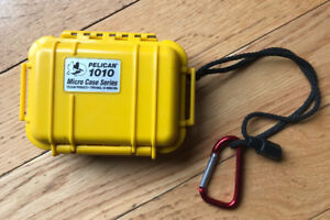 Pelican 1010 Micro waterproof case