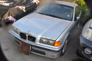 D BMW e36 328i Sedan Built Nov 1997 M52 6 cyl 5 Speed manual  AV