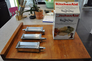 SET PASTA ROLLER AND CUTTER (3 pc) for KitchenAid